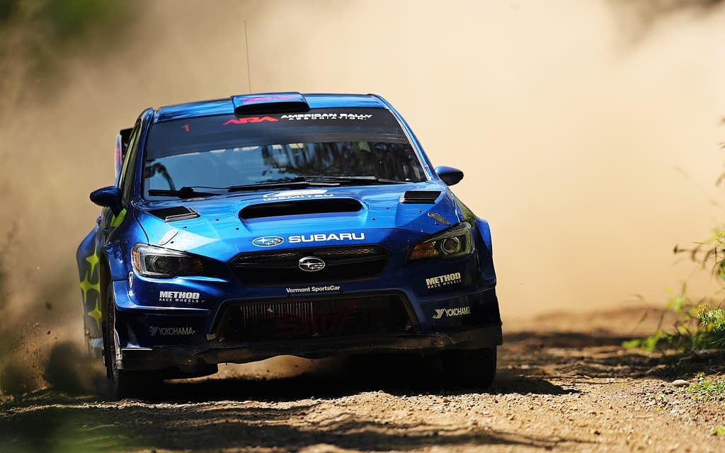 Link to post - Subaru Takes Double Podium at Ojibwe Rally as David Higgins Extends Championship Lead