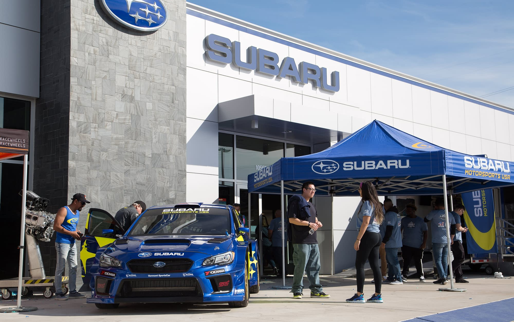 Subaru Motorsports USA Display Program 1