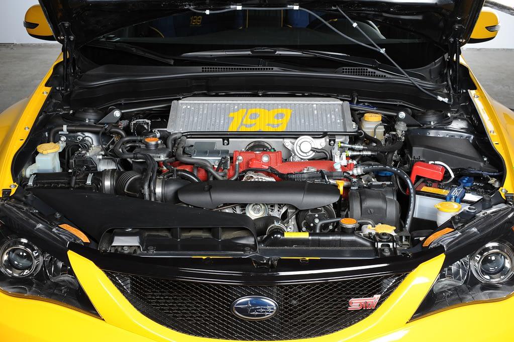 2009 WRX STI Pastrana 199 Engine