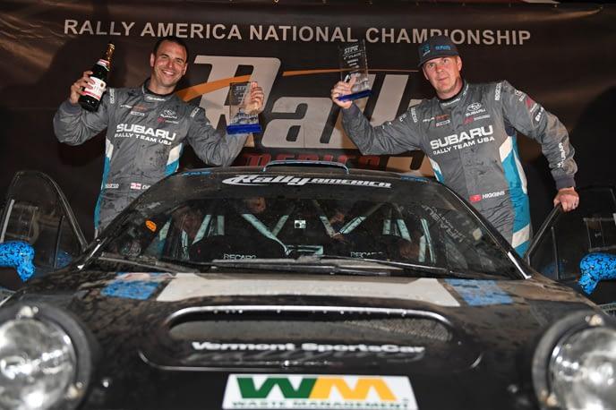 Link to post - Subaru Driver David Higgins Earns Third Straight STPR Victory