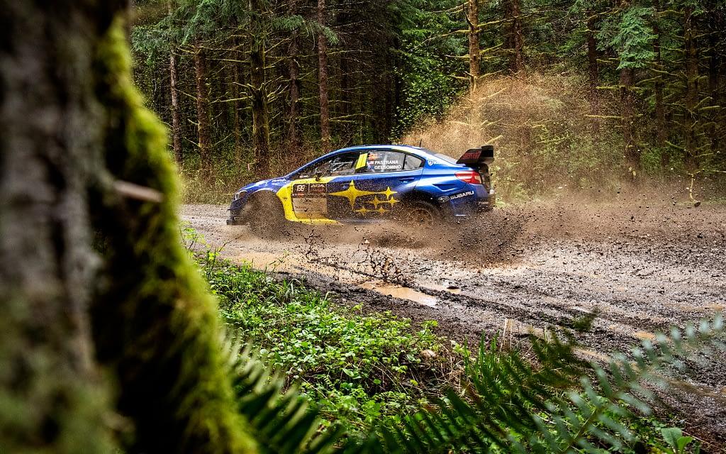 Travis Pastrana Olympus Rally Subaru