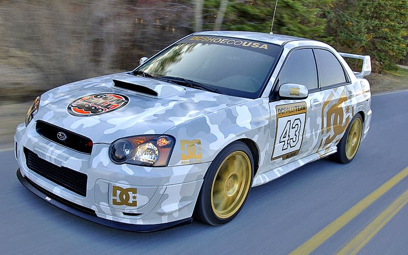 2004 Gumball 3000 Ken Block Roller