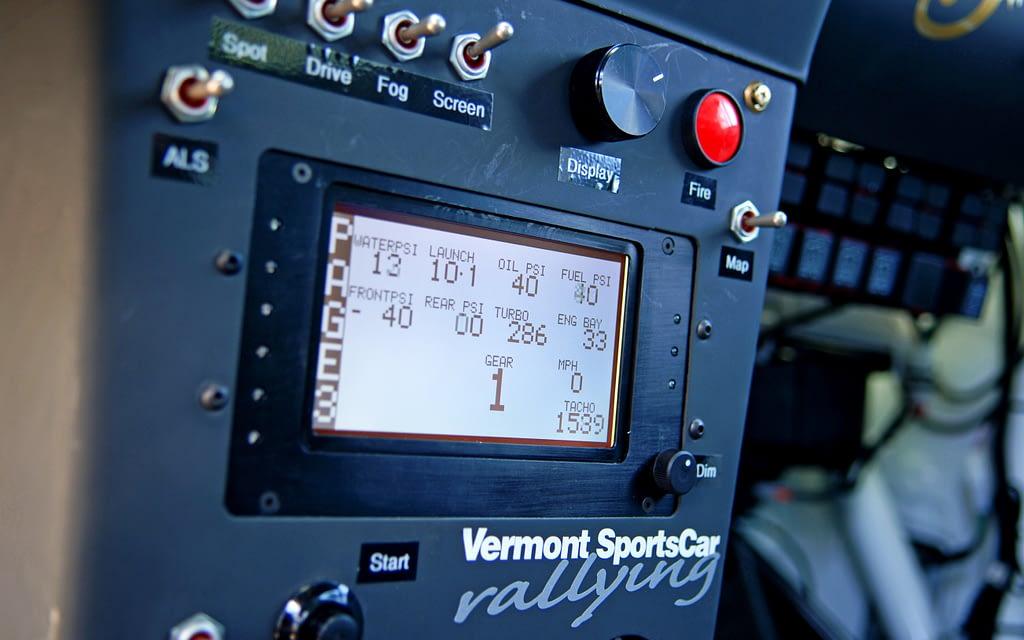 2007 VT7R Interior Center Console