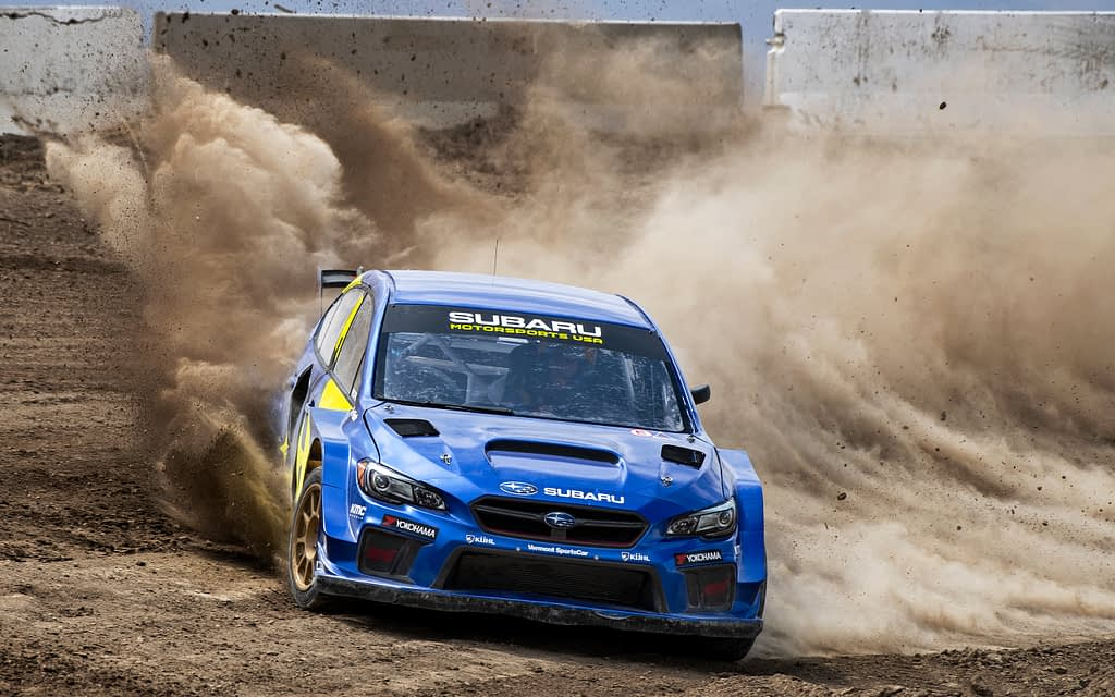 Subaru Motorsports USA Dust Erruption