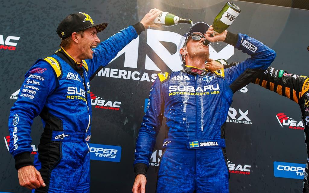 2019 Subaru Podium Champagne Sandell