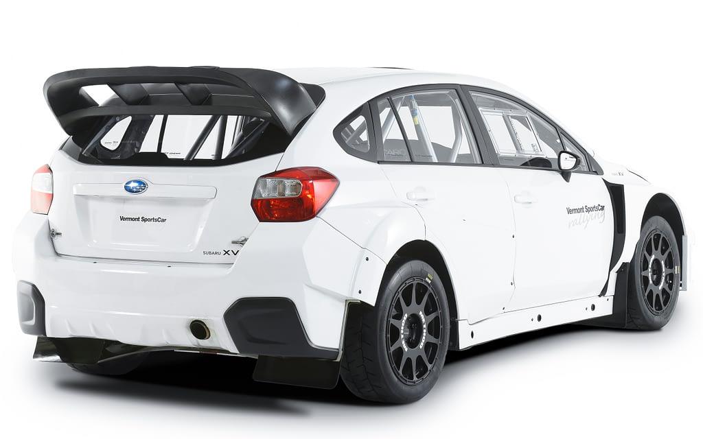 2015 VT15XV Rally Crosstrek Studio Rear