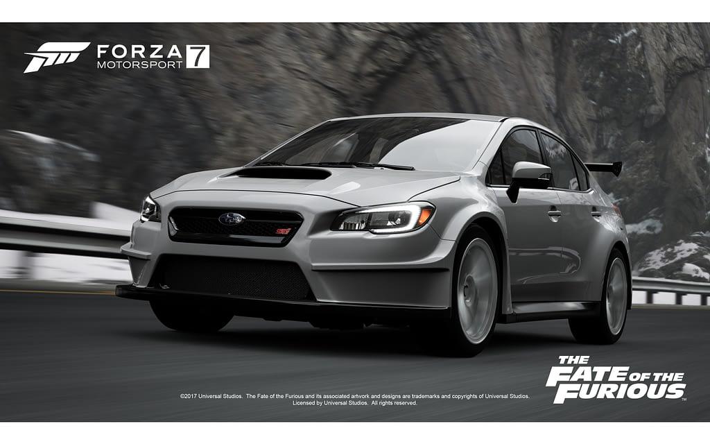 Fast Furious 8 Forza Promo