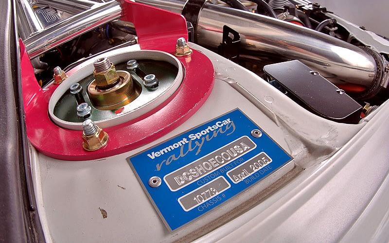 2004 Gumball 3000 Ken Block Build Plate