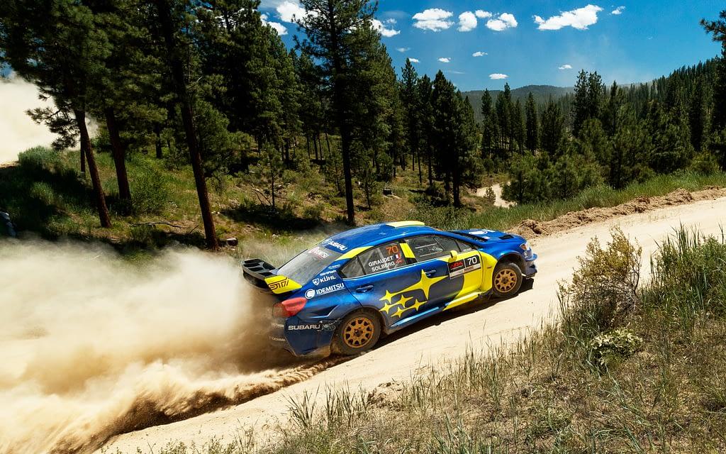 Oliver Solberg Idaho Rally Subaru