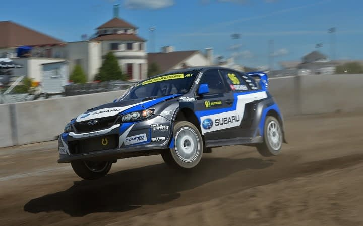 Link to post - Isachsen and Subaru Rally Team USA debut at the FIA World Rallycross in Canada