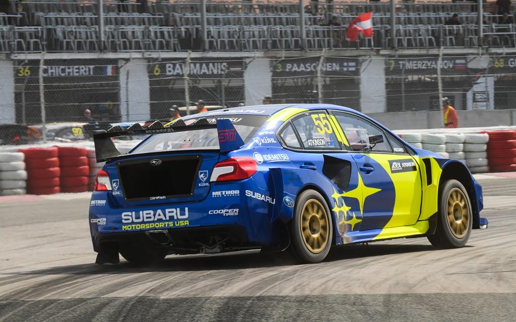 GP3R Atkinson Subaru Motorsports Rallycross
