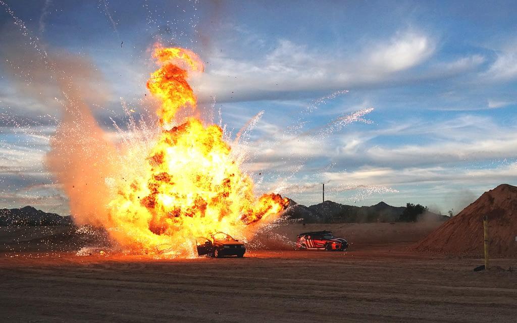 Action Figures 2 Explosion Drift