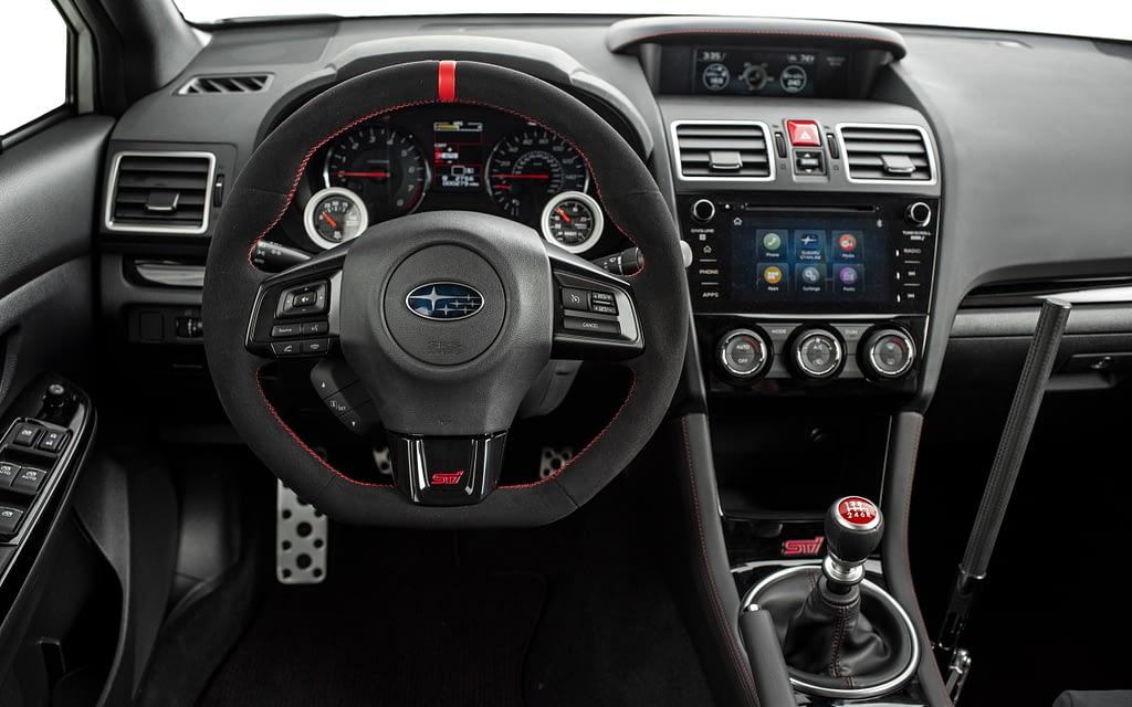 Omaze STI Interior Steering Wheel