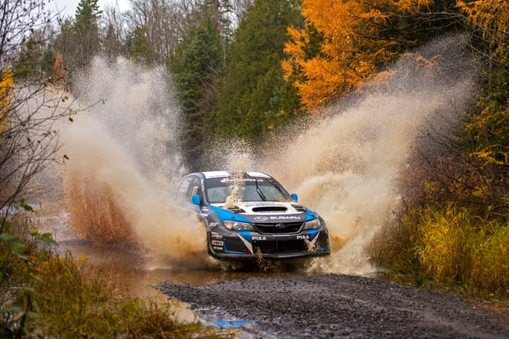 Link to post - Subaru Rally Team USA's David Higgins Caps Off Near-Perfect Season with Victory at Lake Superior Performance Rally