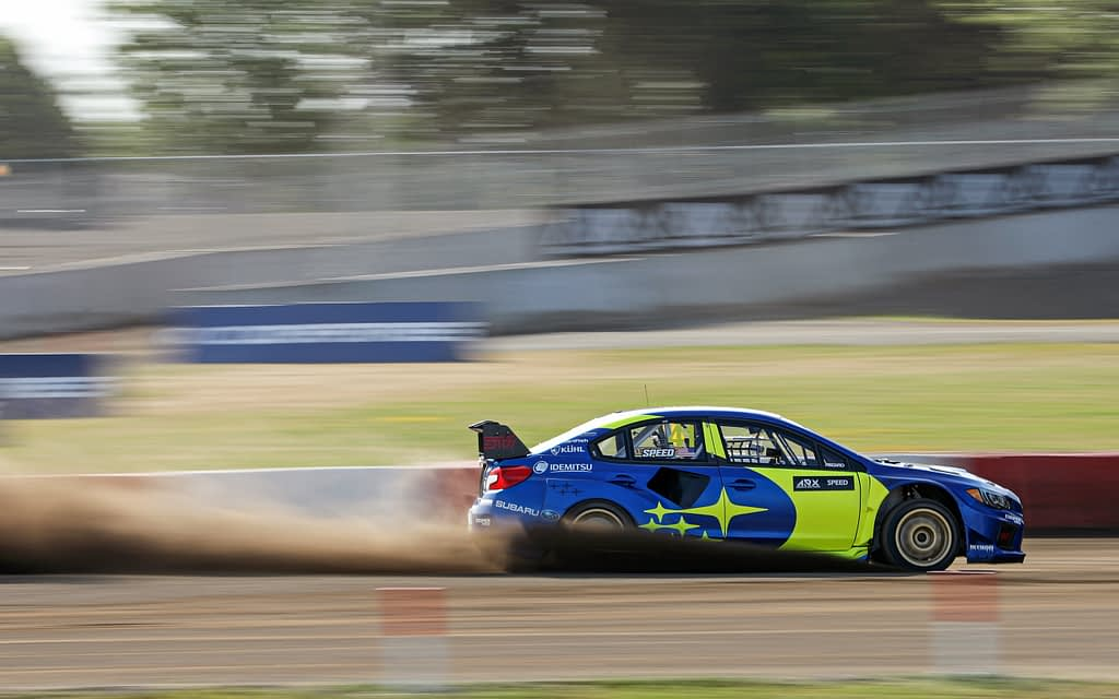 Scott Speed GP3R Rallycross Subaru