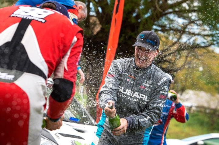 Link to post - Subaru Rally Team USA Drivers David Higgins and Travis Pastrana Finish 1-2 at Oregon Trail Rally