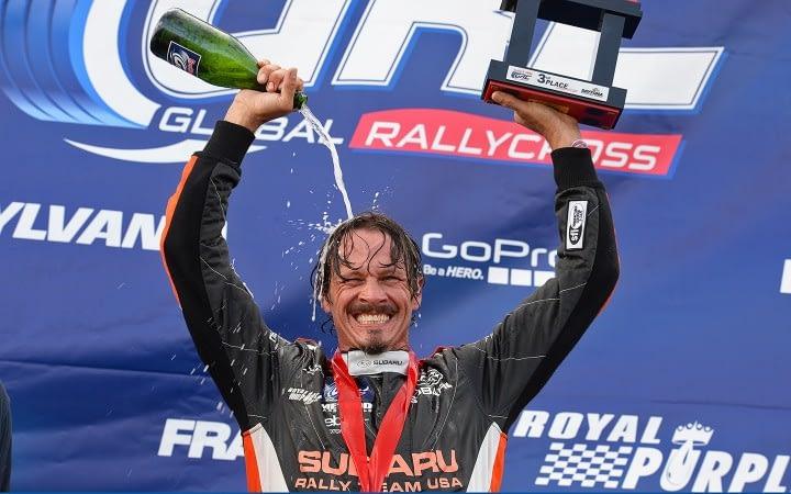 Link to post - Subaru Driver Bucky Lasek Beats the Heat to Reach Podium at Red Bull Global Rallycross Daytona