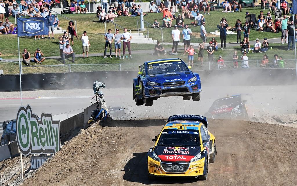 Link to post - Despite Scott Speed Injury, Subaru Perseveres at Nitro World Games