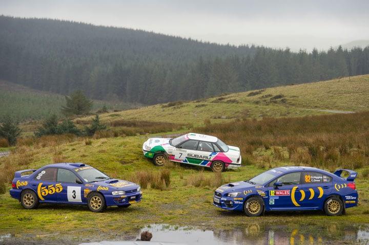 Link to post - Subaru Driver David Higgins Honors Colin McRae with top run at Rally GB