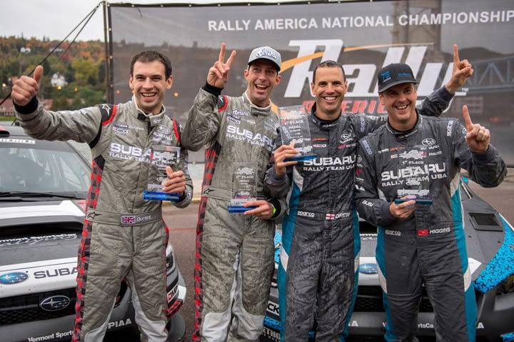 Link to post - Subaru Closes 2016 Season with 1-2 Finish at Lake Superior Performance Rally