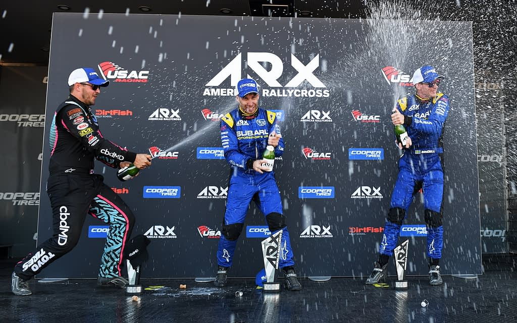 Link to post - Subaru Takes Double Victory at ARX Rallycross of Gateway