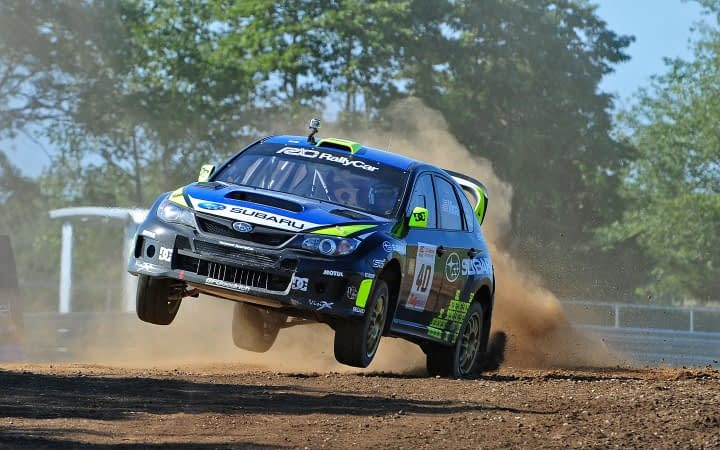 Link to post - Subaru Rally Team USA drivers Travis Pastrana and Dave Mirra Thrill Fans with Podium Finishes at Inaugural U.S. Rallycross