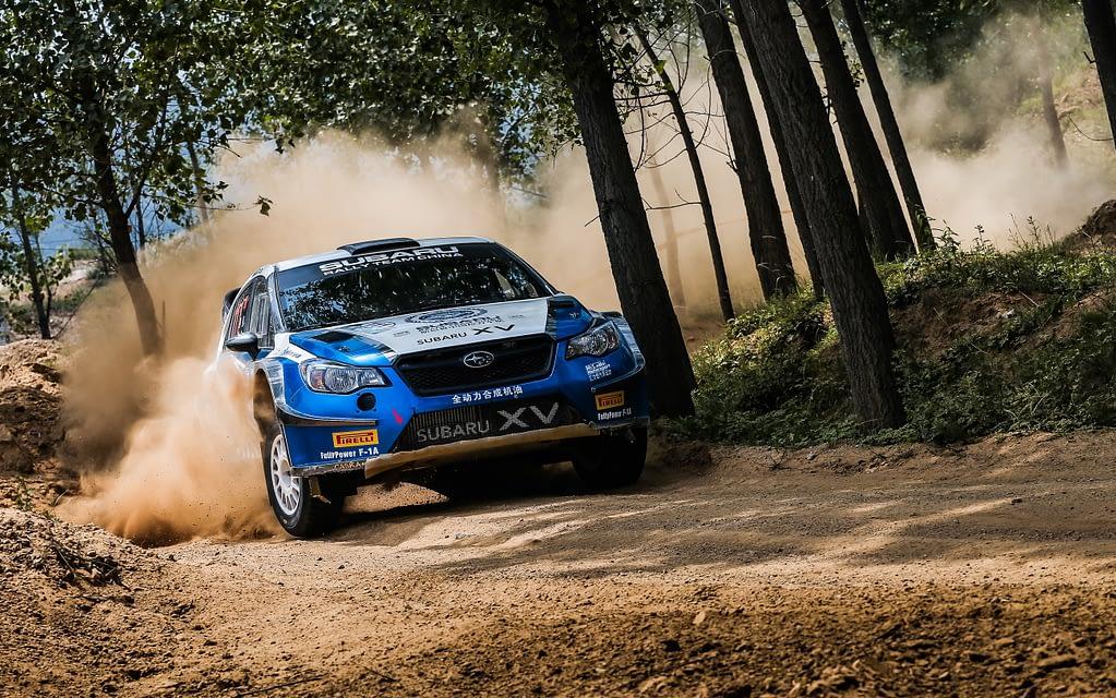 Crosstrek XV Rally China Forest