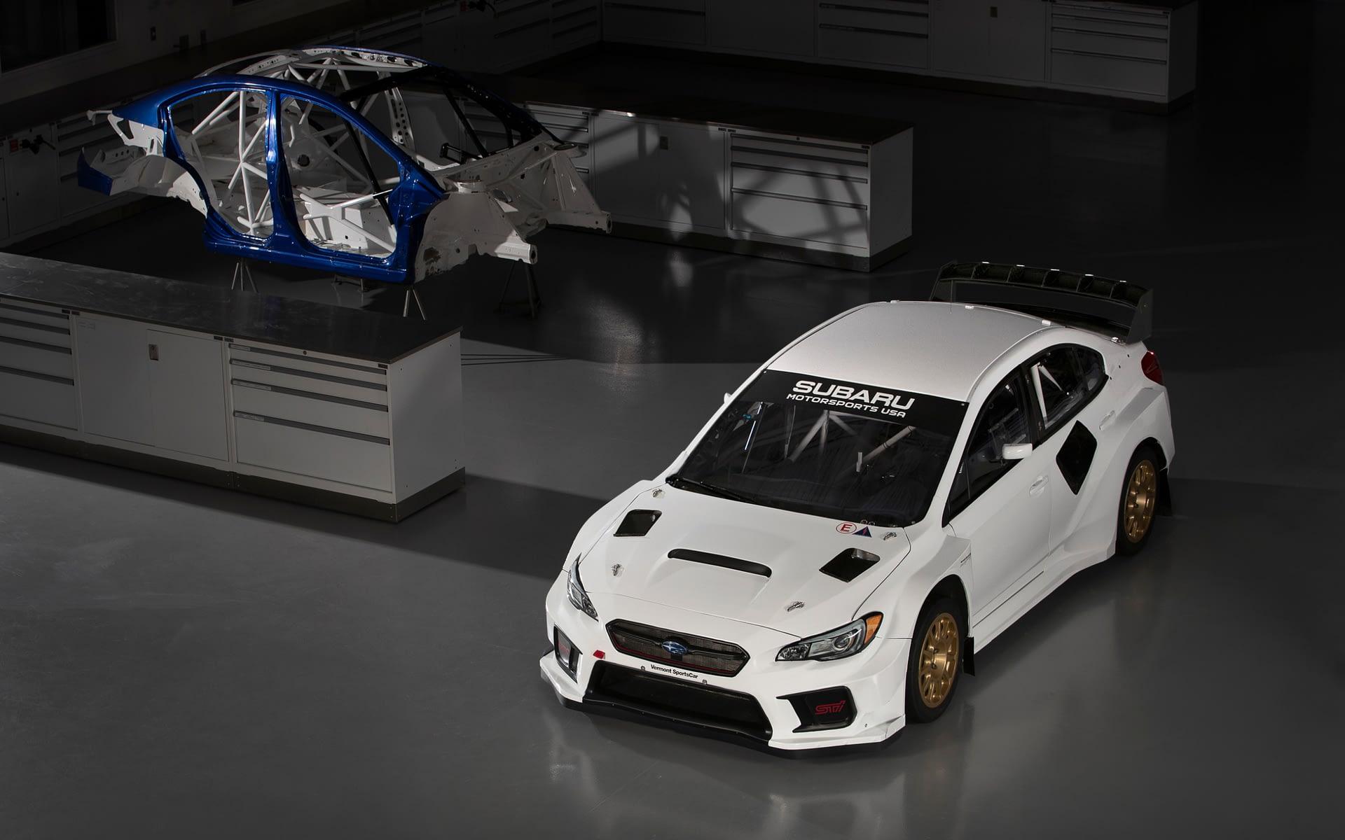 2019 Subaru Rallycross White Studio scaled