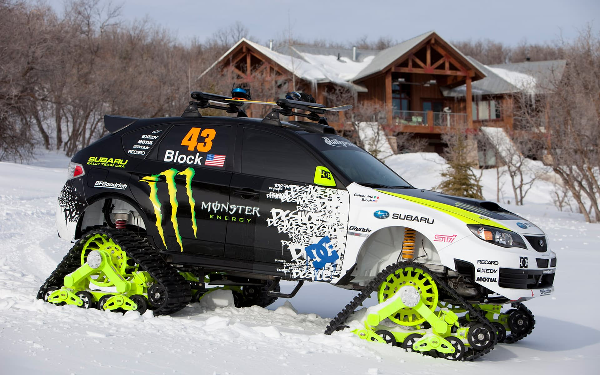 Ken Block TRAX Car