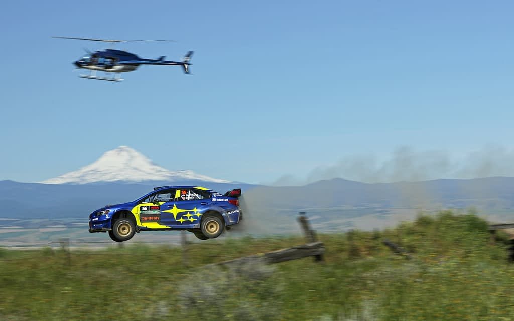 2019 Oregon Trail Rally Boyd Jump