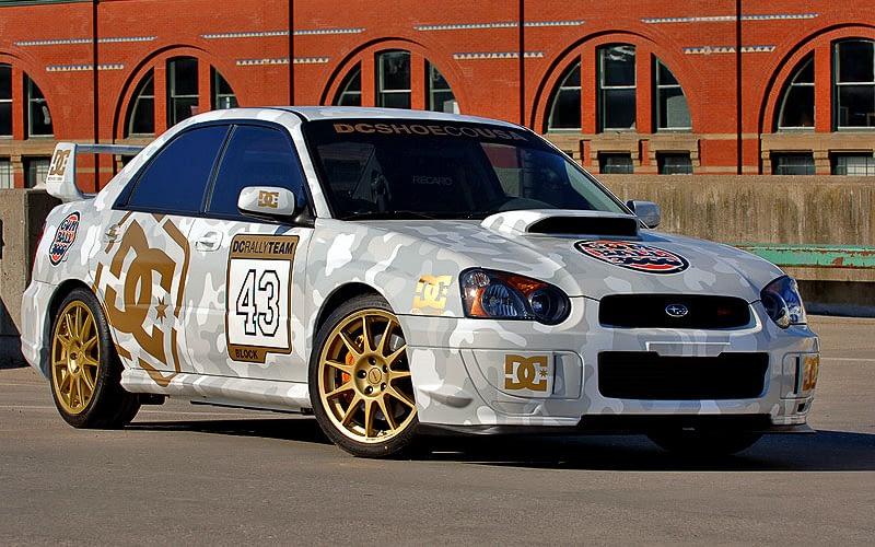 2004 Gumball 3000 Ken Block Front