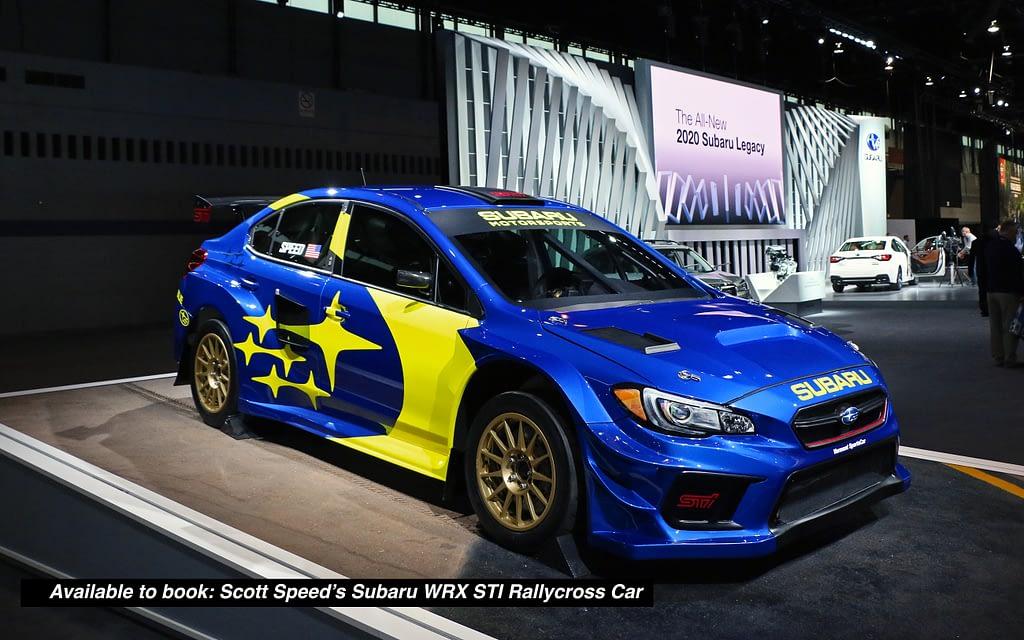19x Subaru Motorsports Chicago Autoshow