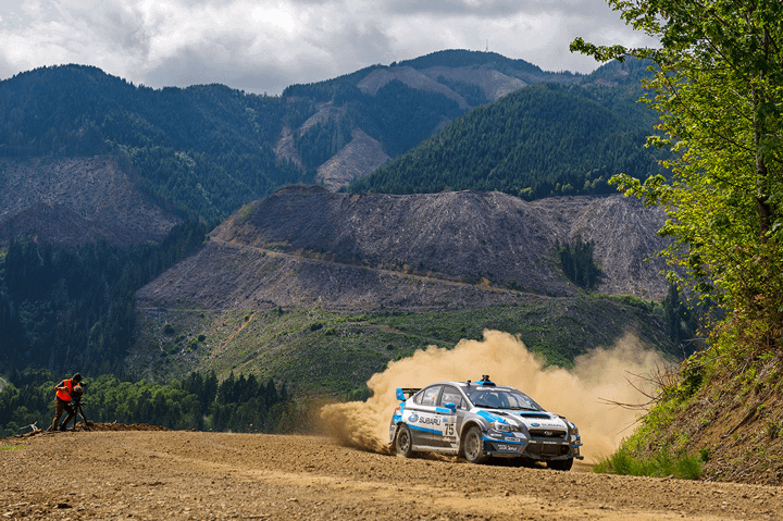 Link to post - David Higgins Stays Undefeated with Victory at Legendary Olympus Rally