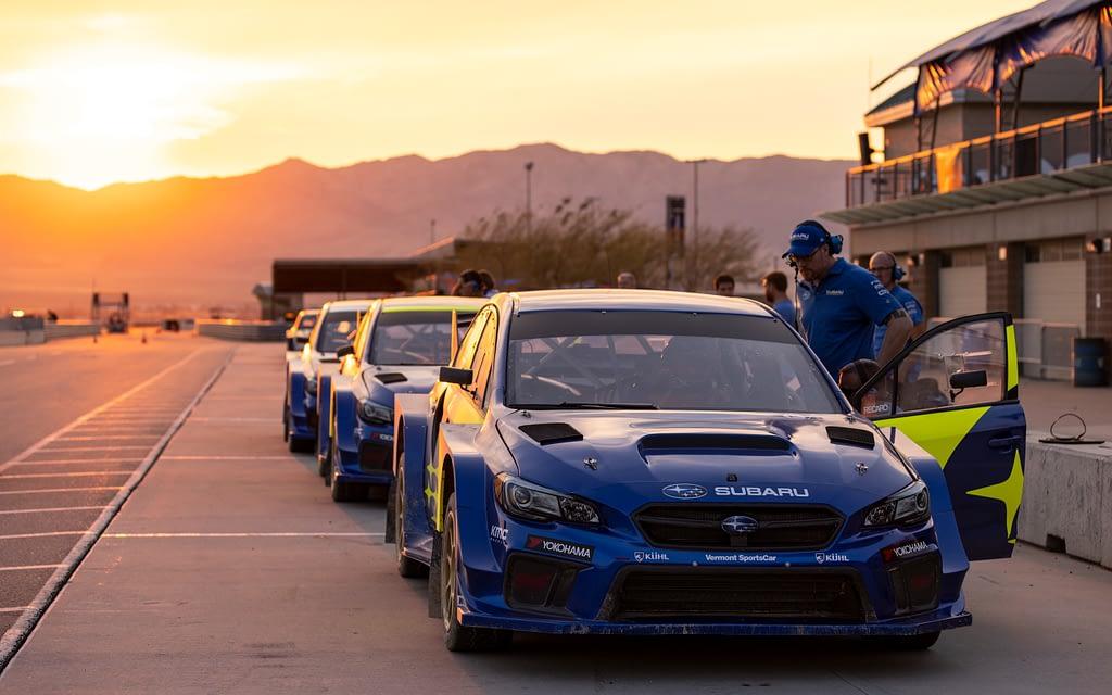 Subaru Motorsports USA Sunset Lineup NRX