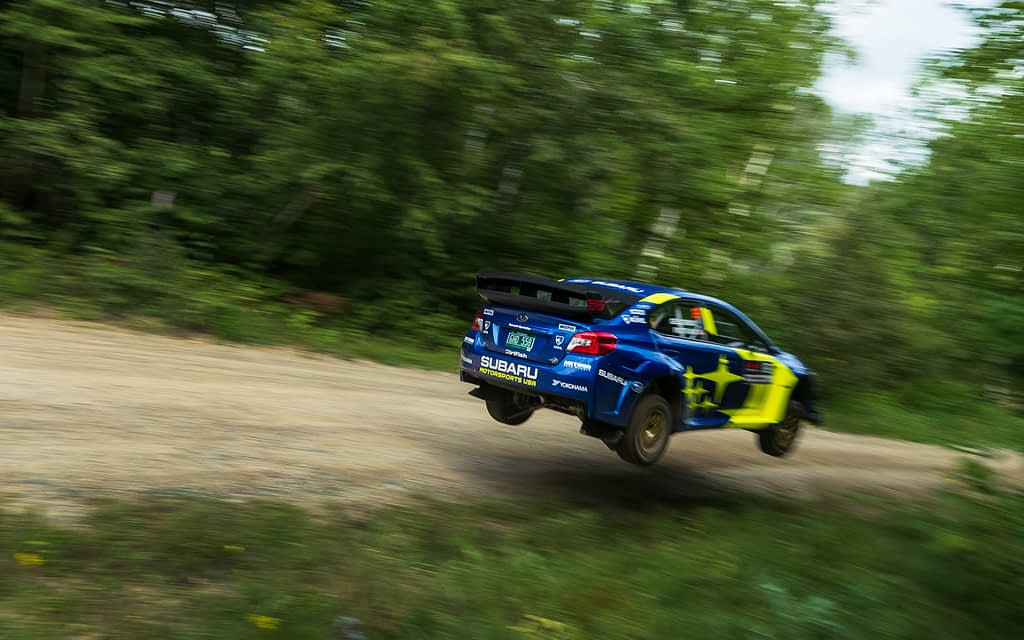 Link to post - Subaru Takes First Win and Scores Double Podium at Ojibwe Forests Rally