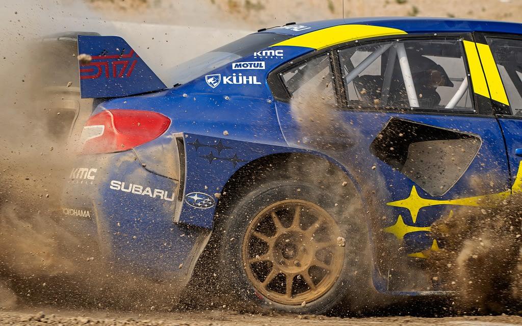 21x Subaru Motorsports USA Gravel Spray