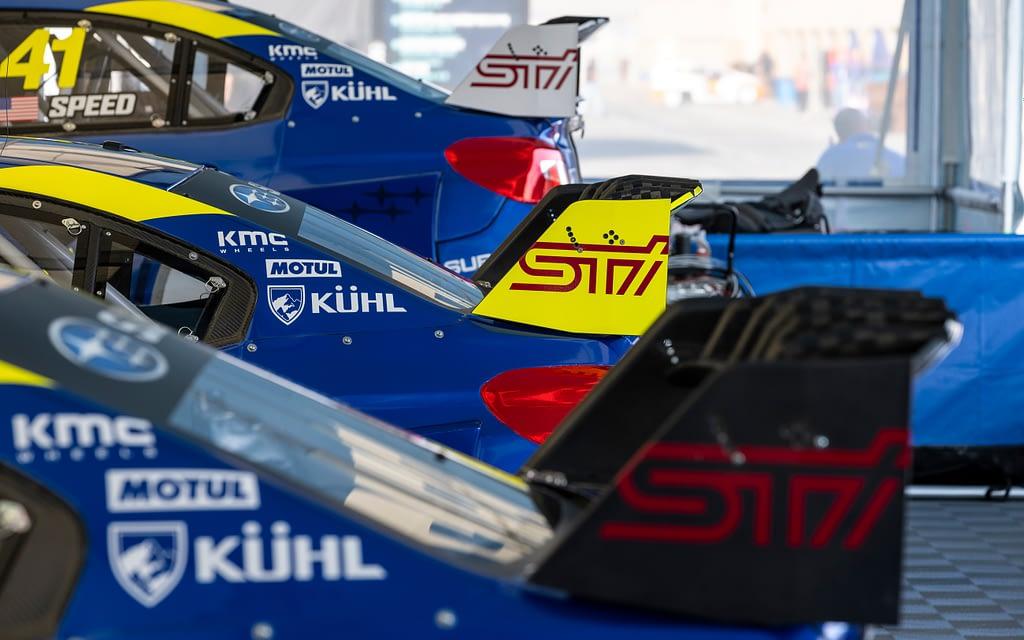 Subaru Motorsports USA NRX Lineup