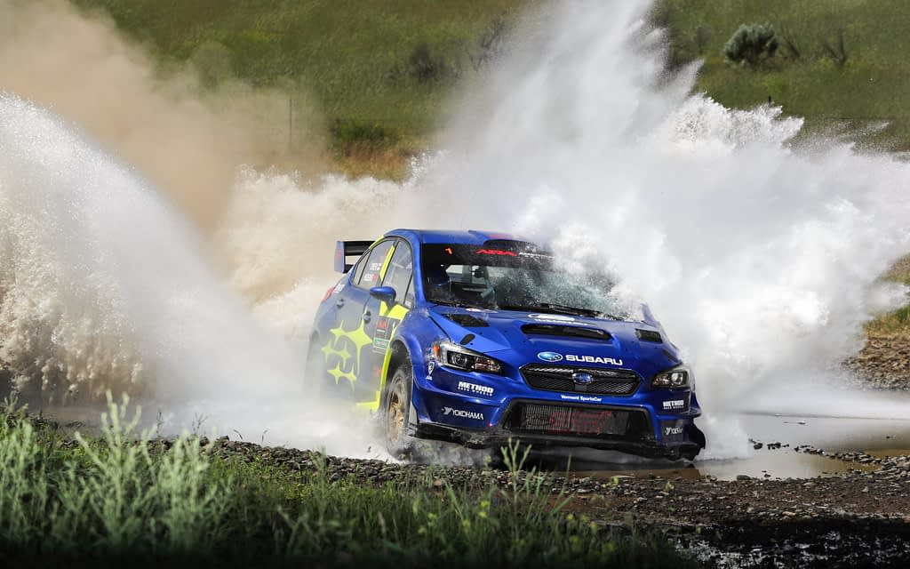 2019 VT20R Oregon Trail Rally Water Crossing