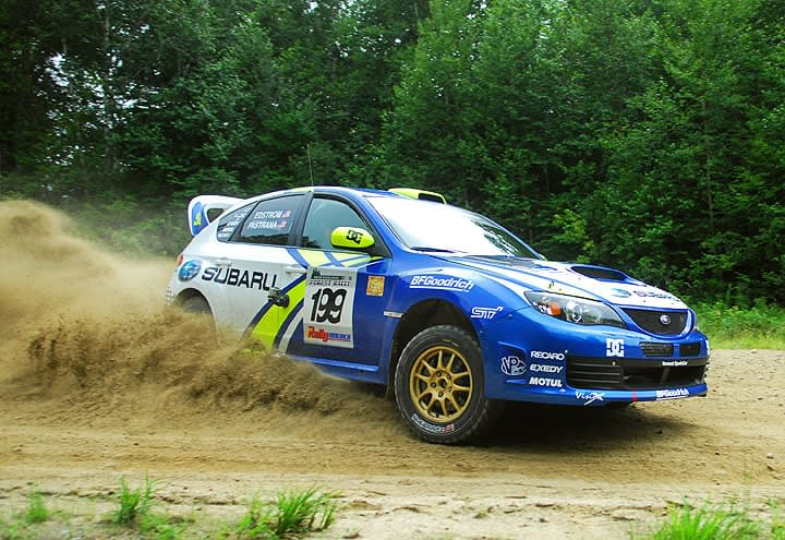 Link to post - Late Rally Drama Thwarts Certain Win for Pastrana at New England Forest Rally