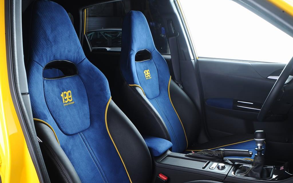2009 WRX STI Pastrana 199 Seats