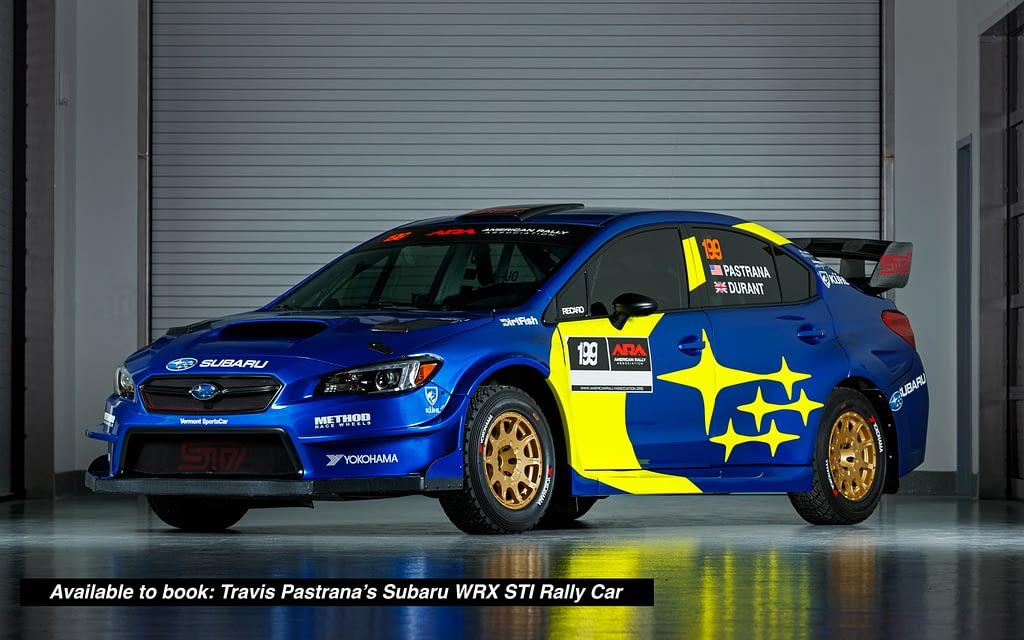 19r Subaru Motorsports Travis Pastrana Rallycar