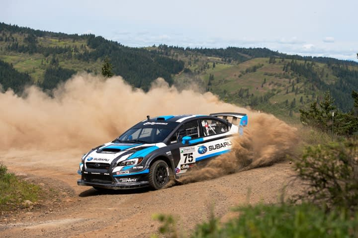 Link to post - Subaru Driver David Higgins Claims Third Straight Win of the Rally America Championship at Oregon Trail Rally