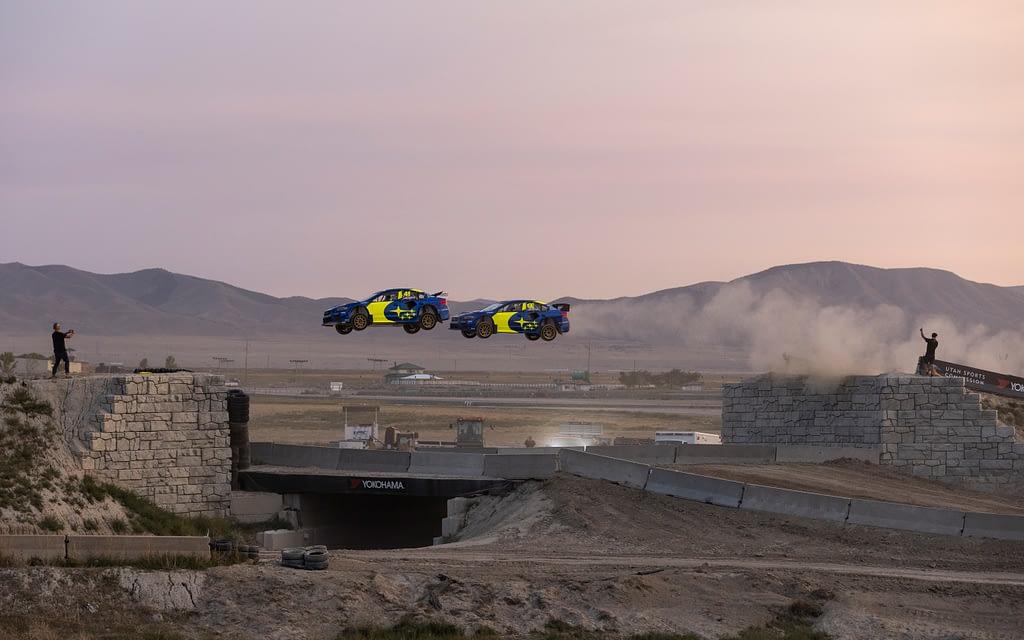 Subaru Motorsports USA NRX Jump Test