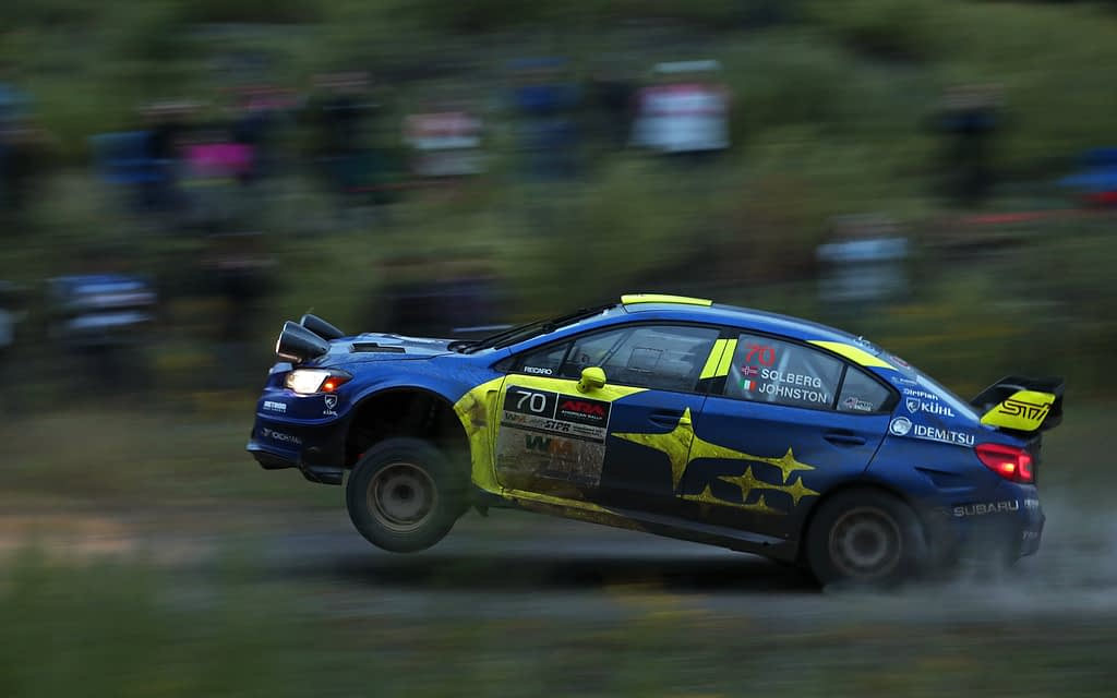Link to post - Seventeen-year-old Subaru Driver Oliver Solberg Secures Second U.S. Win at Susquehannock Trail Rally