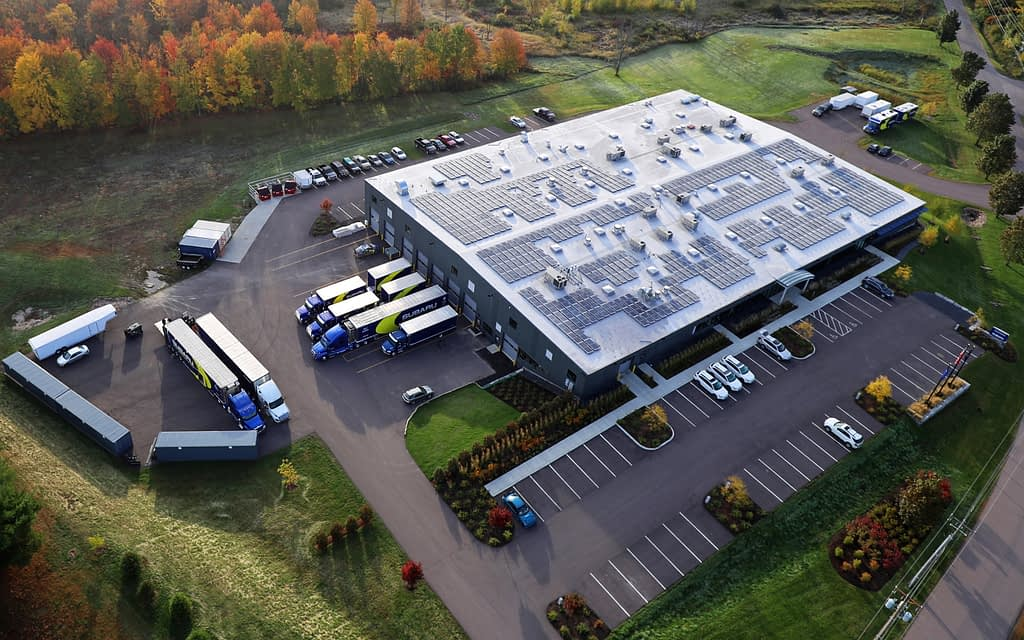 Vermont SportsCar Headquarters Aerial View