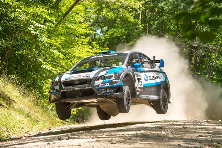 Link to post - Higgins Wins 'Clash of the Titans' at New England Forest Rally, Clinches Title!