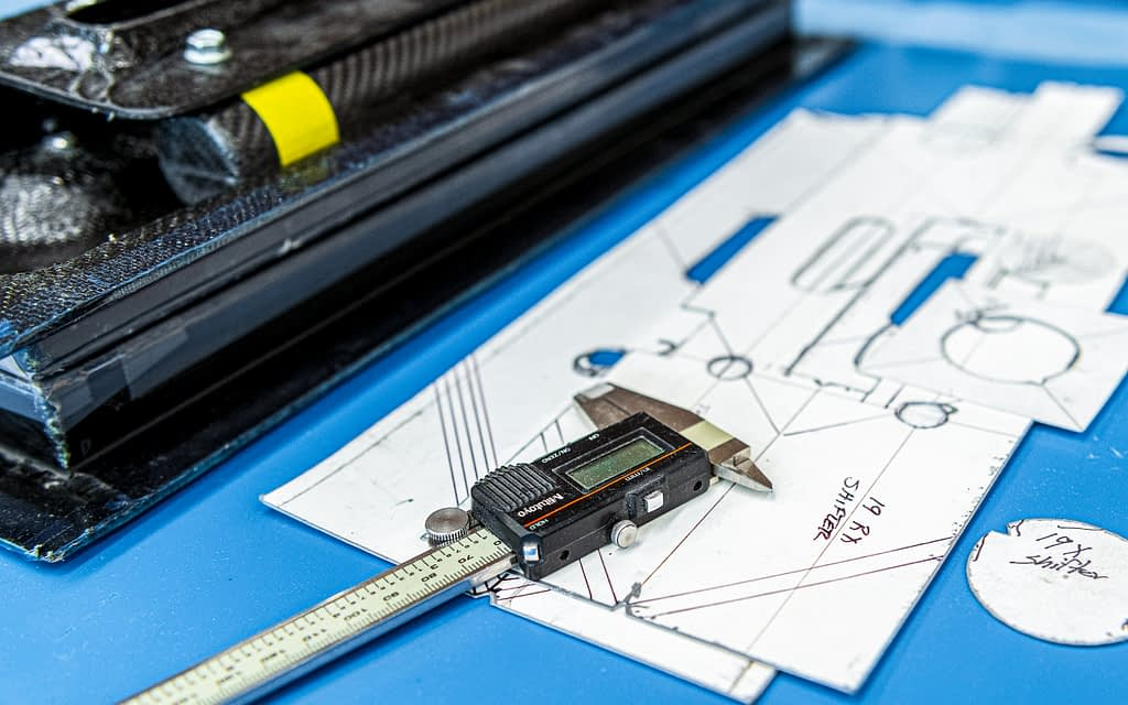 Vermont SportsCar Composite Blueprint and Caliper
