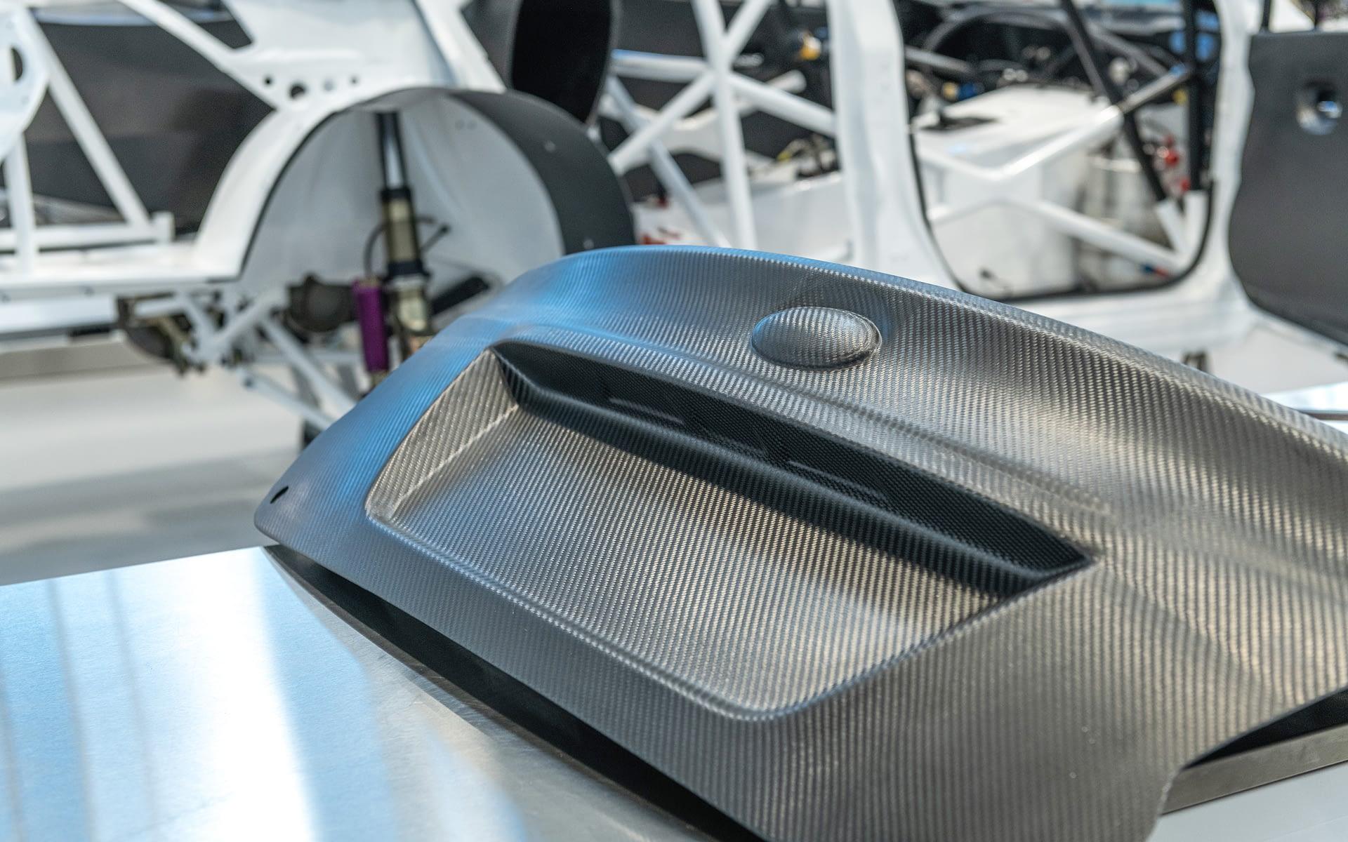 Carbon Fiber Trunk Lid VSC