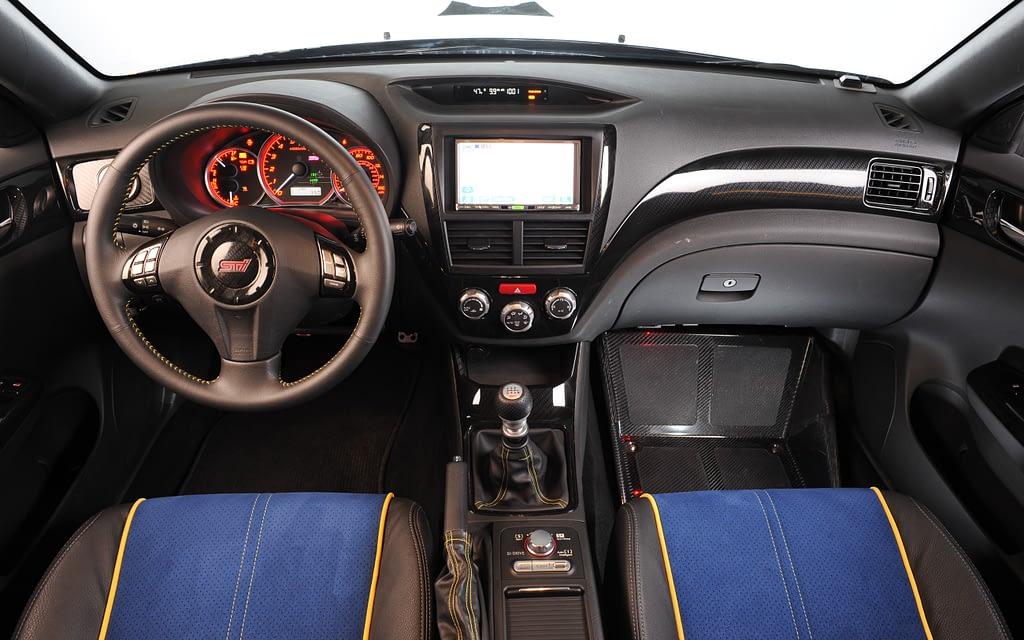 2009 WRX STI Pastrana 199 Interior